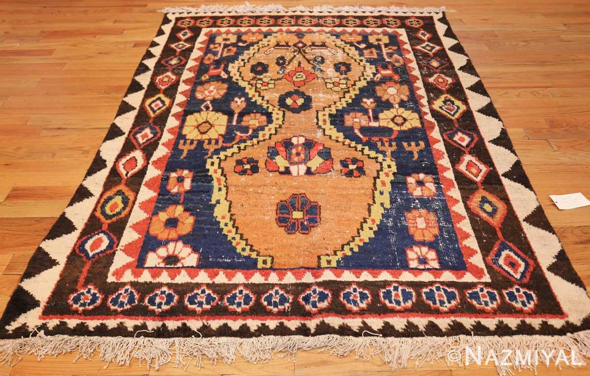 shabby chic tribal vintage gabbeh persian rug 48969 whole Nazmiyal