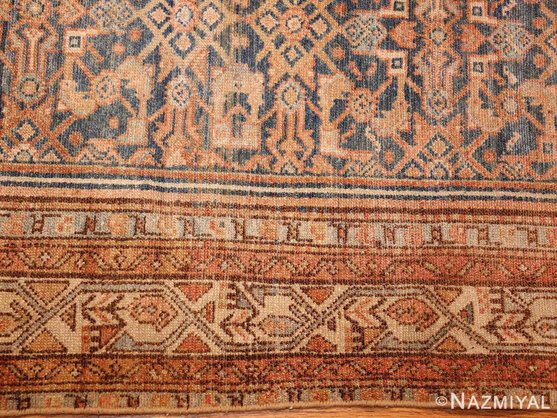 small tribal antique persian malayer rug 50646 border Nazmiyal