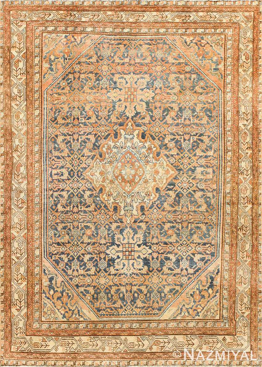 Small Tribal Antique Persian Malayer Rug 50646 Nazmiyal