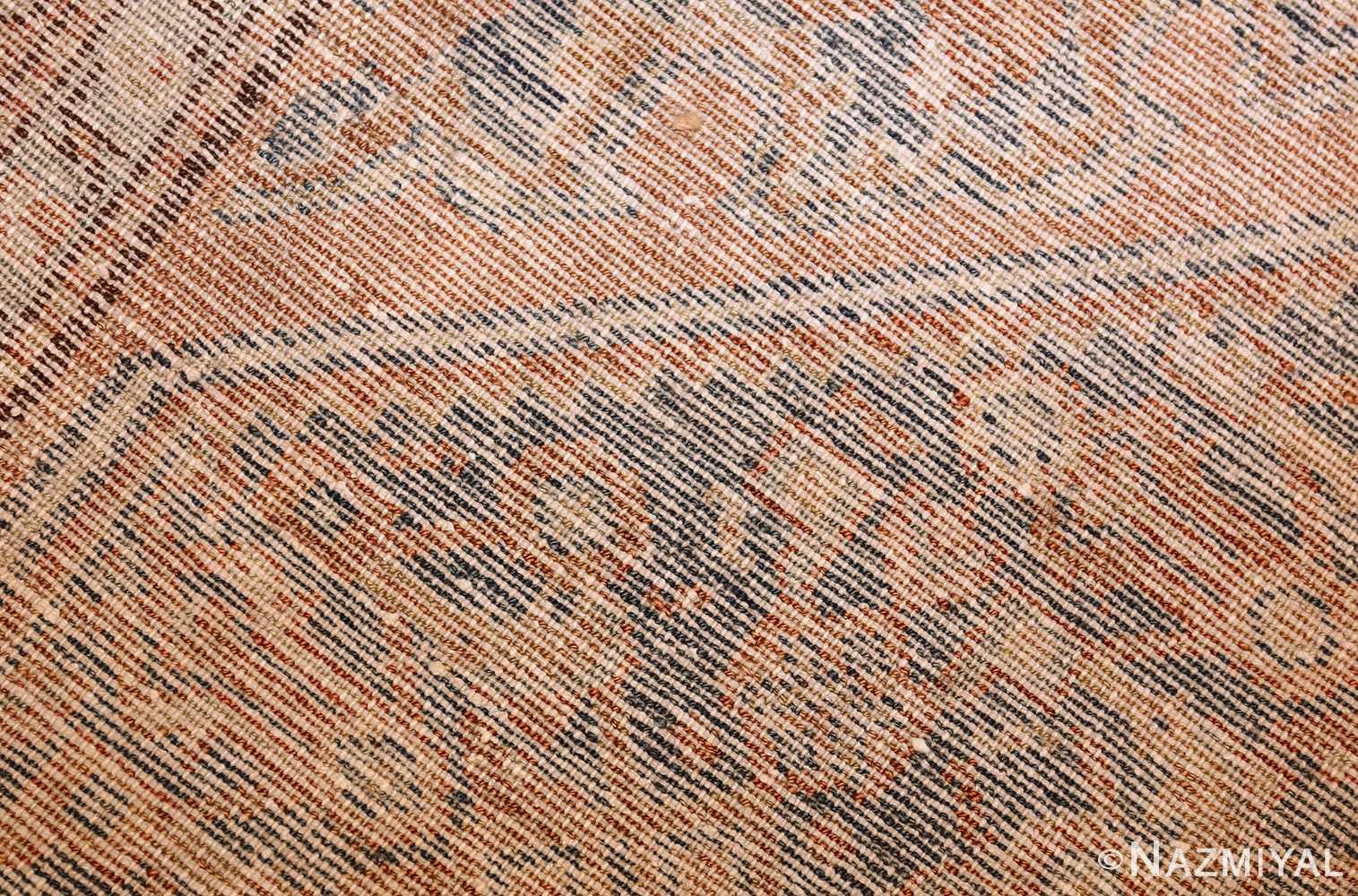 small tribal antique persian malayer rug 50646 weave Nazmiyal