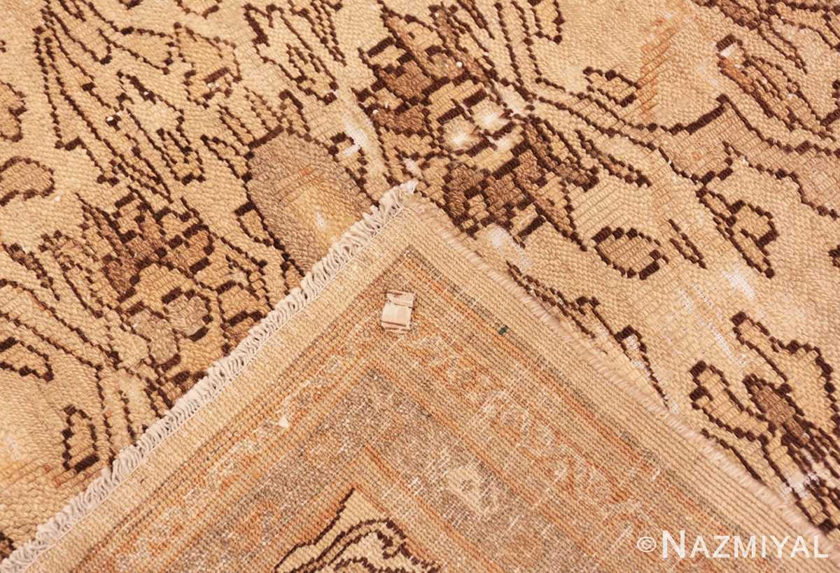 Weave Decorative Antique Persian Bibkabad Shabby chic rug 50680 by Nazmiyal