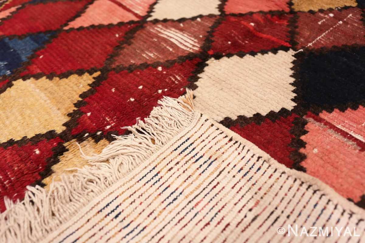 Weave Diamond Shabby Chic Vintage Persian Gabbeh rug 48974 by Nazmiyal