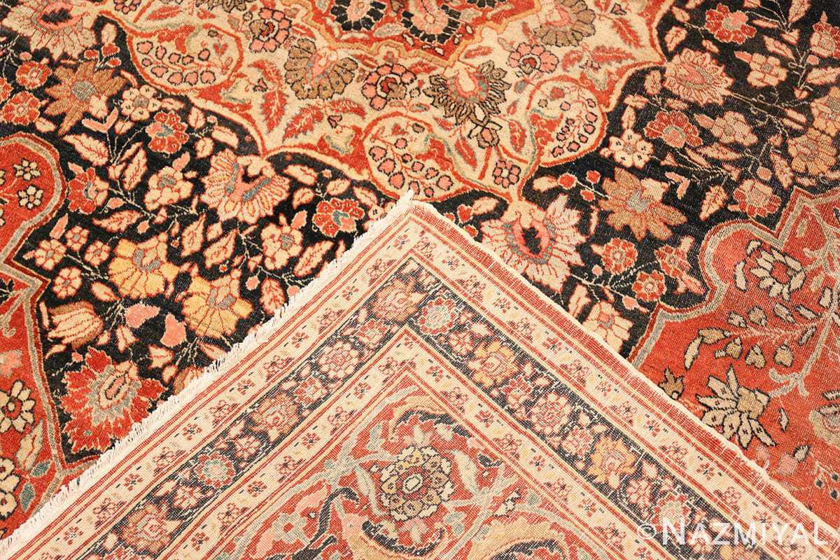 Weave Antique Persian Tabriz Central medallion rug 50663 by Nazmiyal