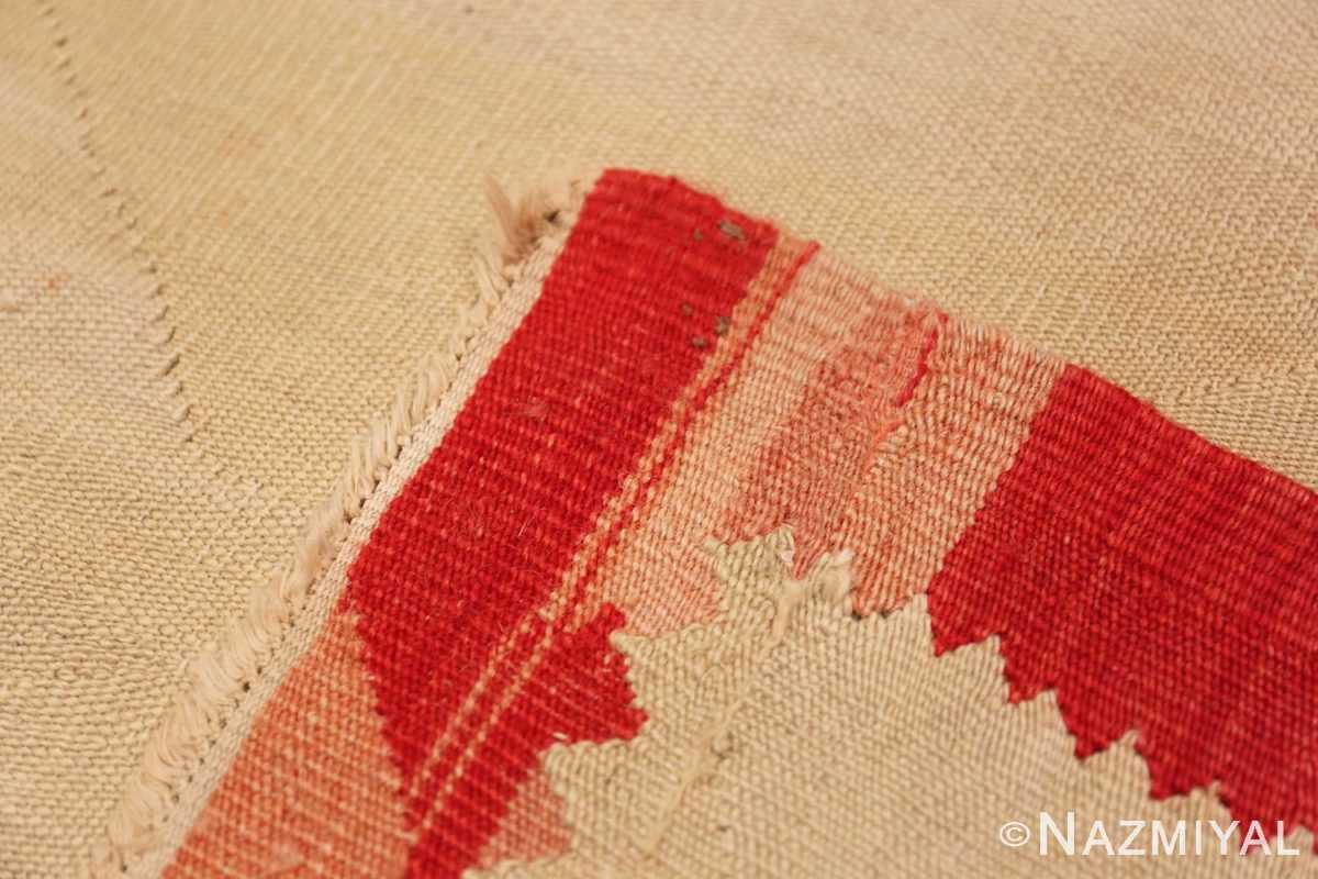 Weave Large oversized vintage Folk Art Romanian Bessarabian Kilim rug 48871 by Nazmiyal