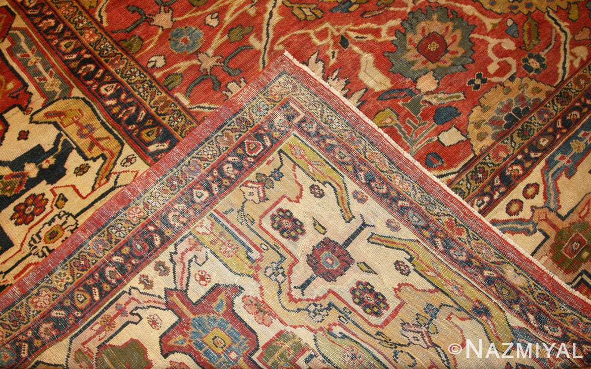 Weave Oversized Antique Persian Sultanabad rug 47700 by Nazmiyal