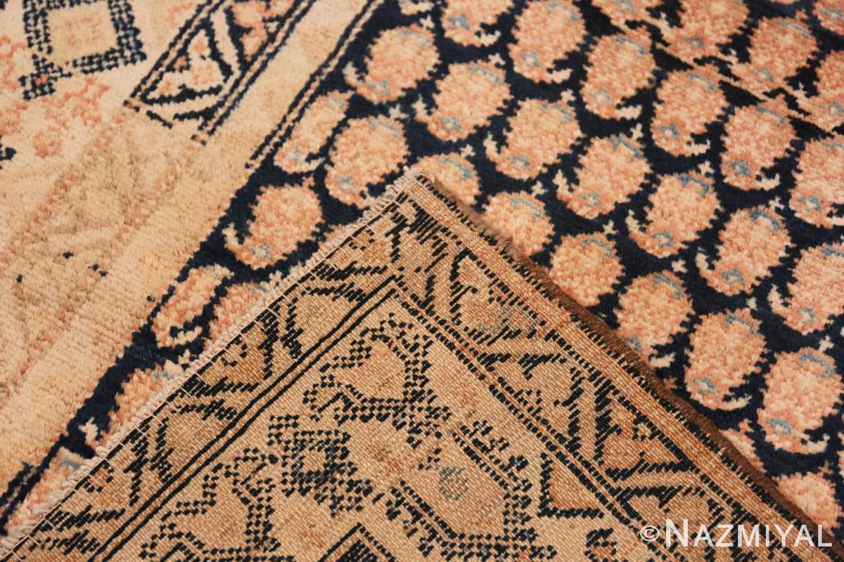 Weave Tribal Paisley design Antique Persian Malayer runner rug 50671 by Nazmiyal