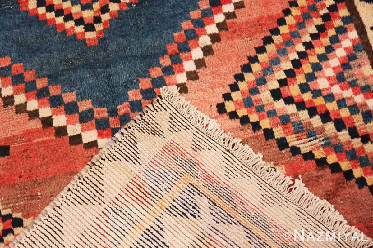 Weave Vintage tribal shabby chic Persian Gabbeh rug 48966 by Nazmiyal