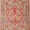 Fine Large Silk and Wool Persian Kerman Antique Rug 48957 Nazmiyal