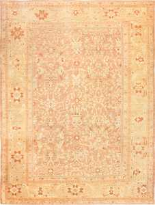 Large Decorative Antique Persian Ziegler Sultanabad Rug 48762 Nazmiyal