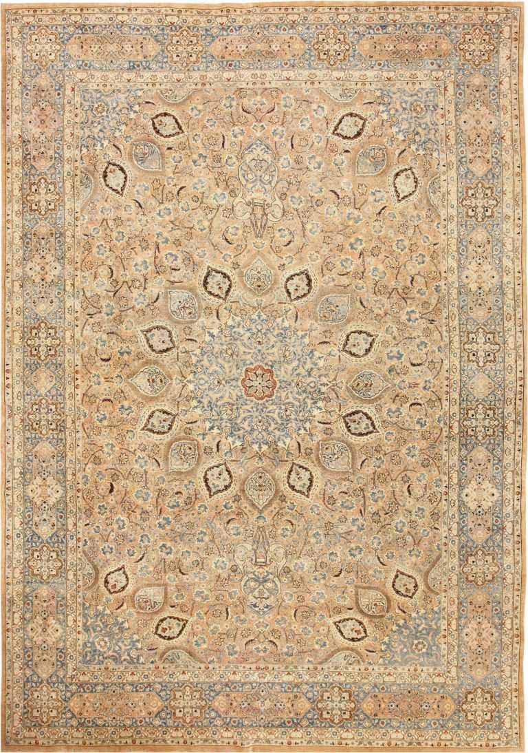 Large Decorative Persian Khorassan Antique Rug 48774 Nazmiyal