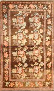 Small Scatter Size Antique Caucasian Karabagh Rug 50706 Nazmiyal