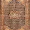 Small Scatter Size Antique Persian Sarouk Farahan Rug 50686 Nazmiyal