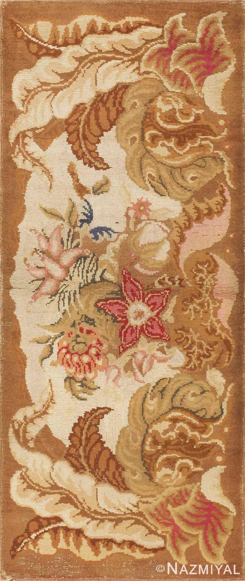 Antique English Axminster Rug 2891 Nazmiyal