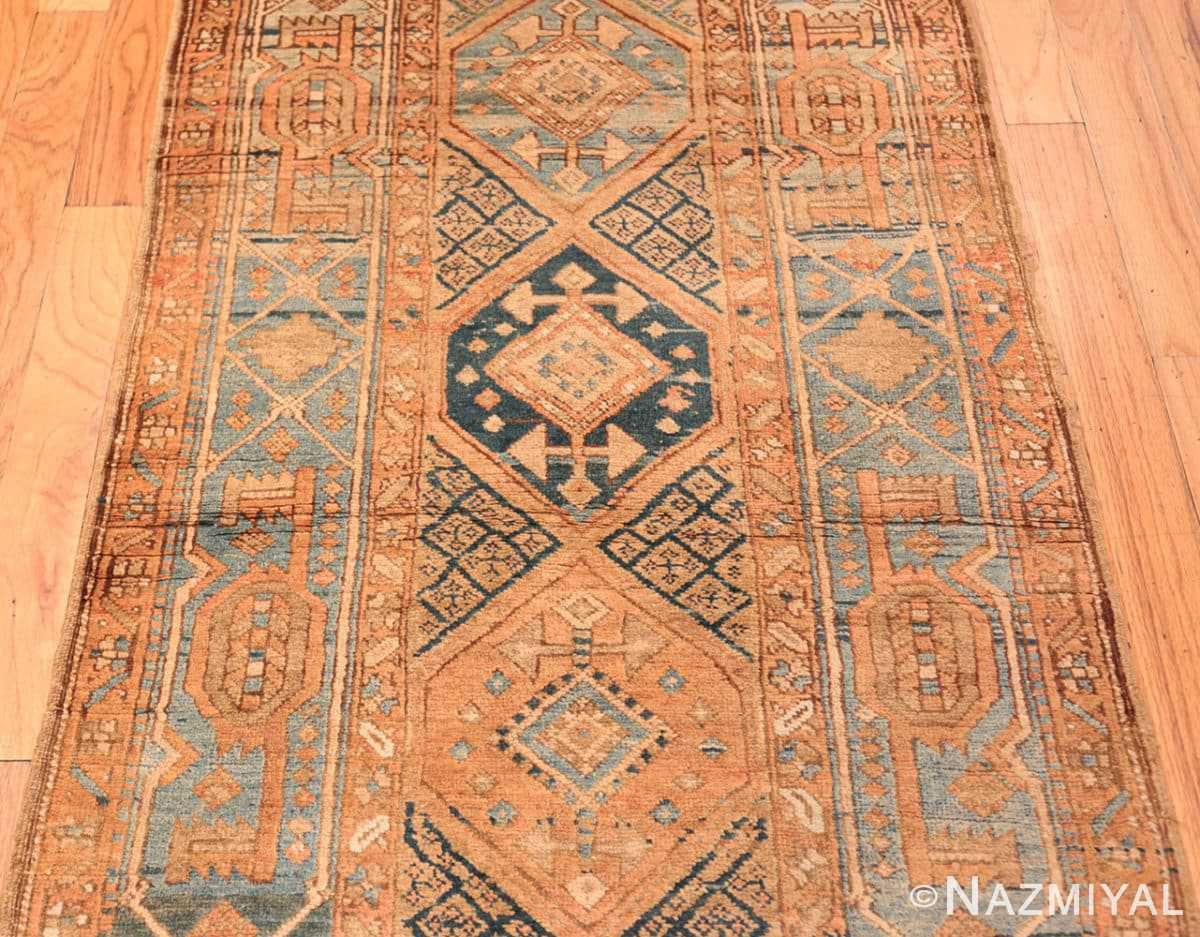 Field Tribal Antique Persian Heriz Serapi runner rug 48994 by Nazmiyal