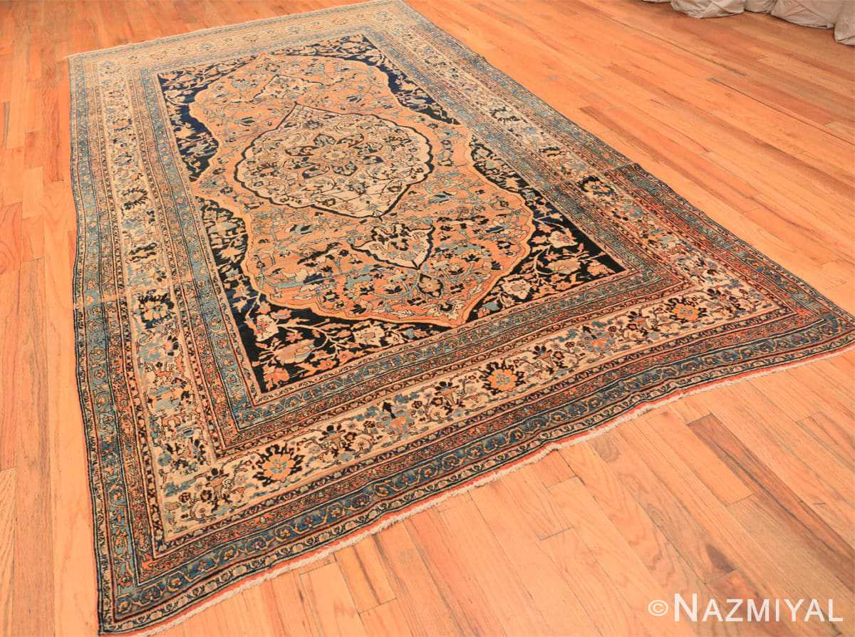 Full Antique Room size Persian Tabriz rug 50547 by Nazmiyal