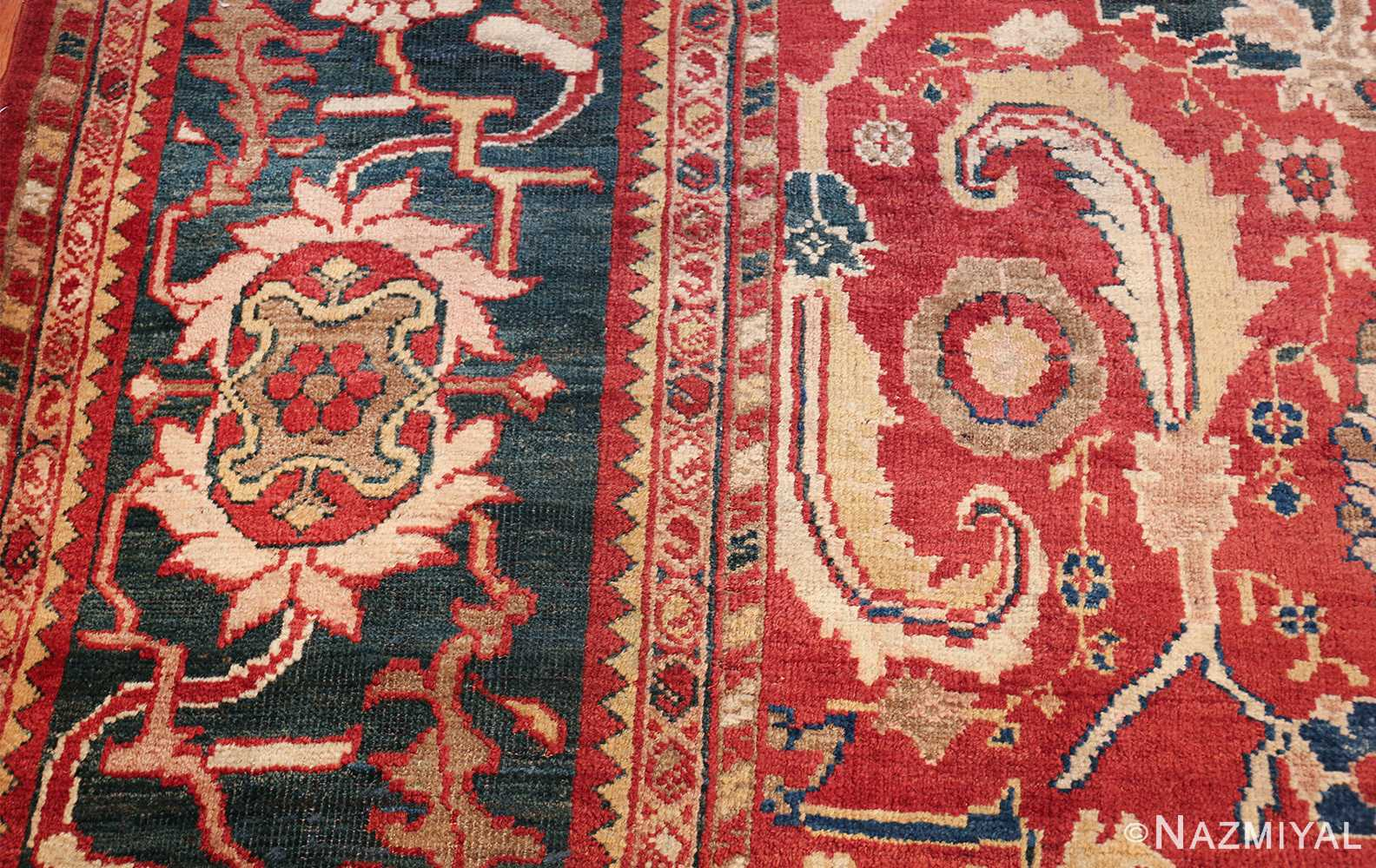 large scale all over design persian sultanabad antique rug 50708 design Nazmiyal