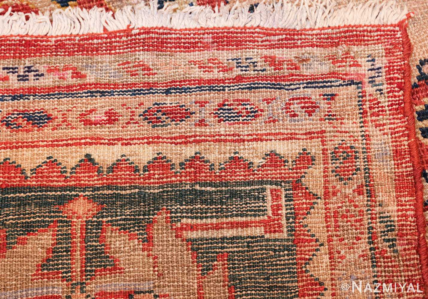 large scale all over design persian sultanabad antique rug 50708 weave Nazmiyal