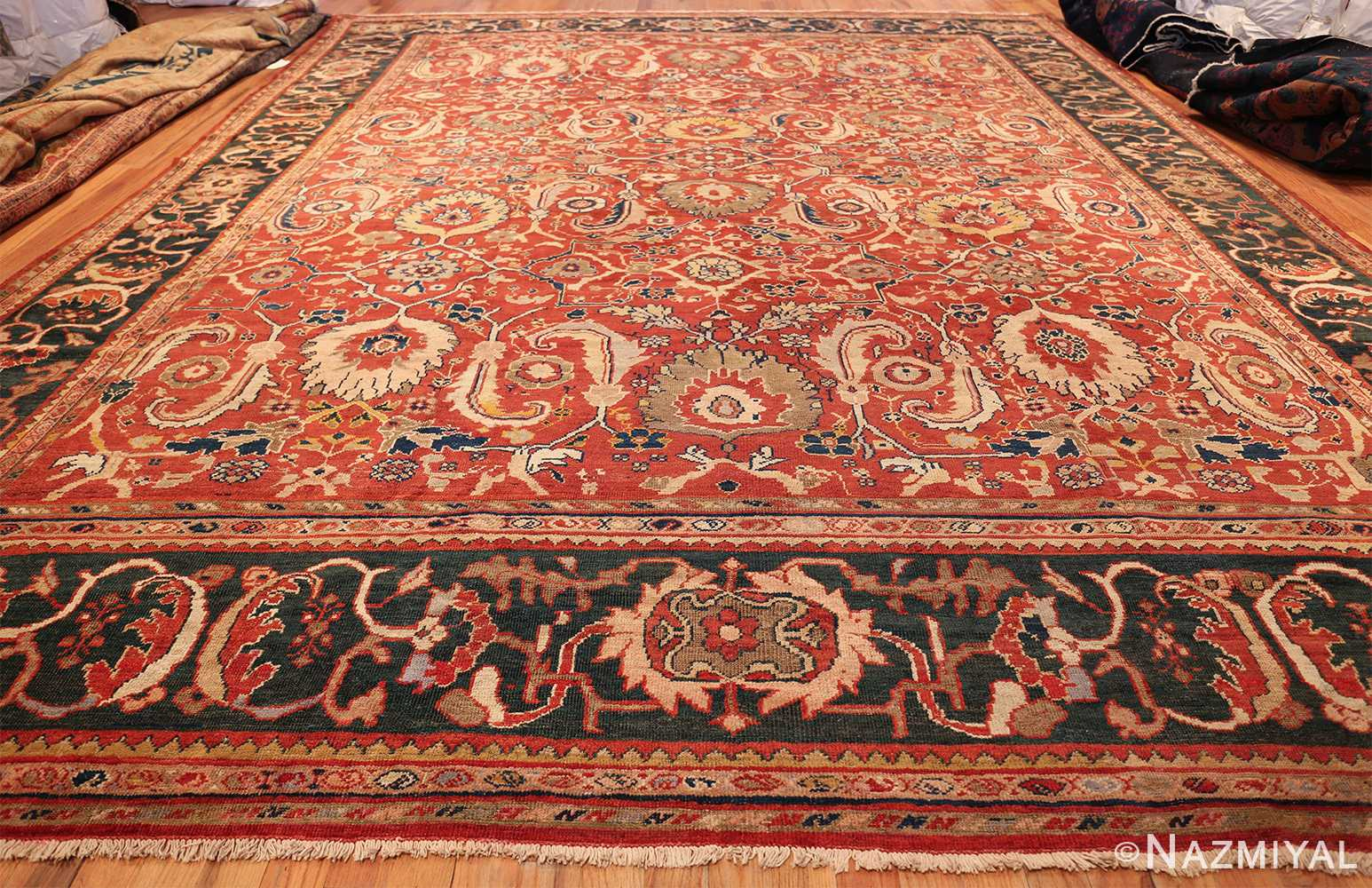 large scale all over design persian sultanabad antique rug 50708 whole Nazmiyal