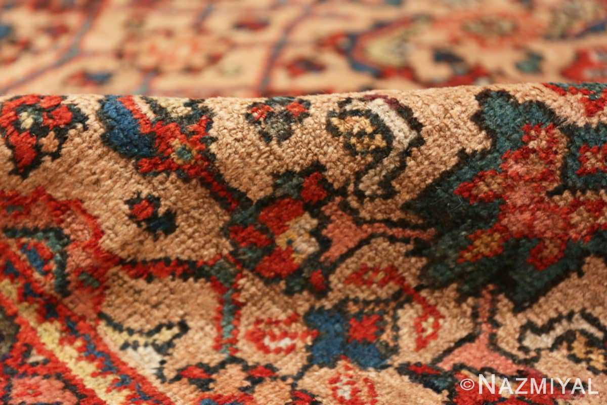 Pile Camel background Persian Sultanabad Antique rug 50660 by Nazmiyal