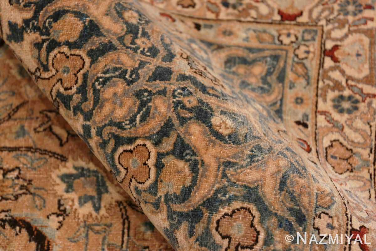 Pile Large decorative Ardabil Persian Khorassan Antique rug 48774 by Nazmiyal