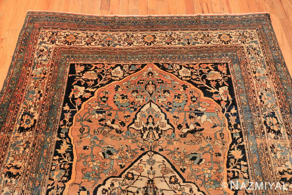 Top Antique Room size Persian Tabriz rug 50547 by Nazmiyal