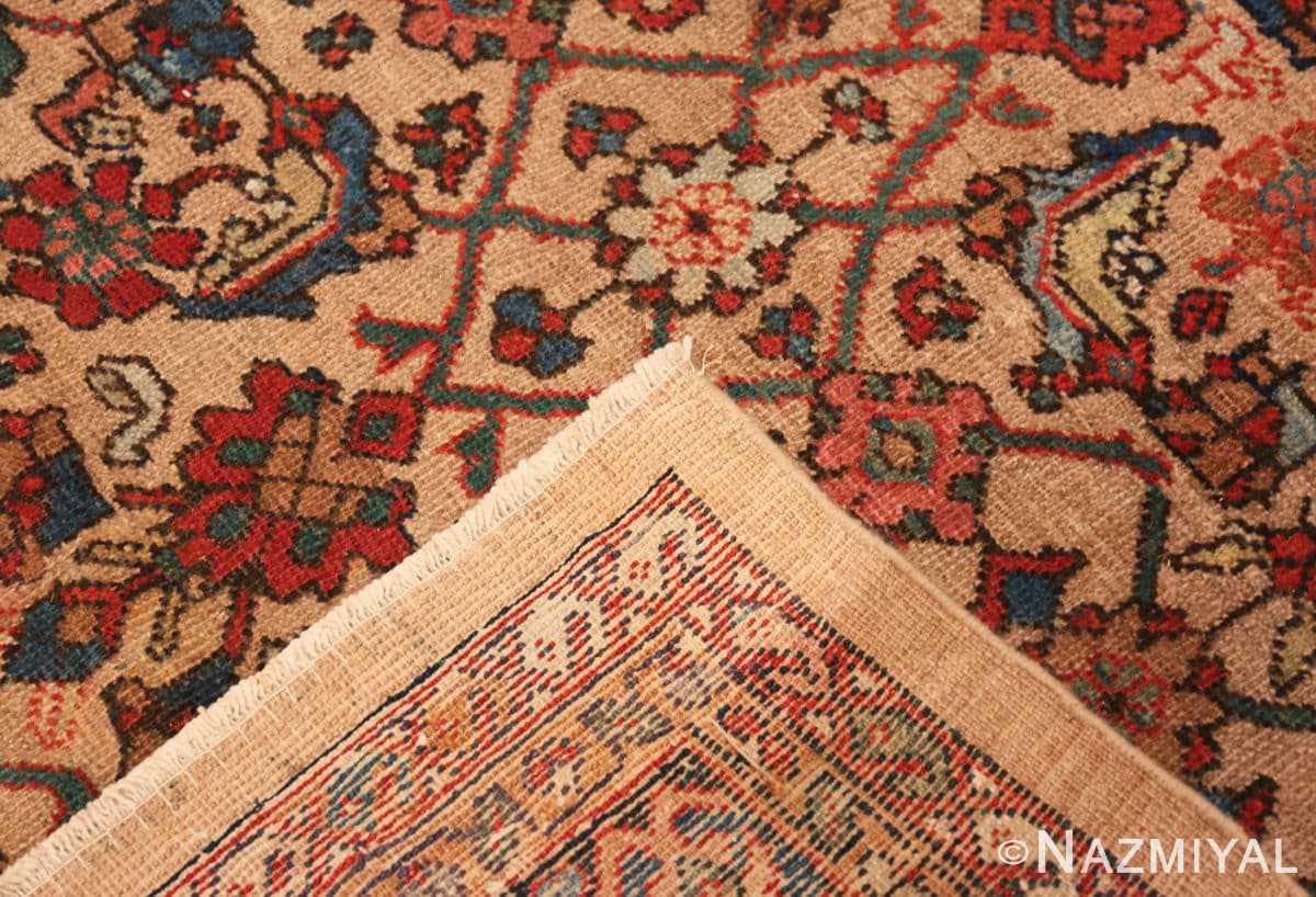 Weave Camel background Persian Sultanabad Antique rug 50660 by Nazmiyal