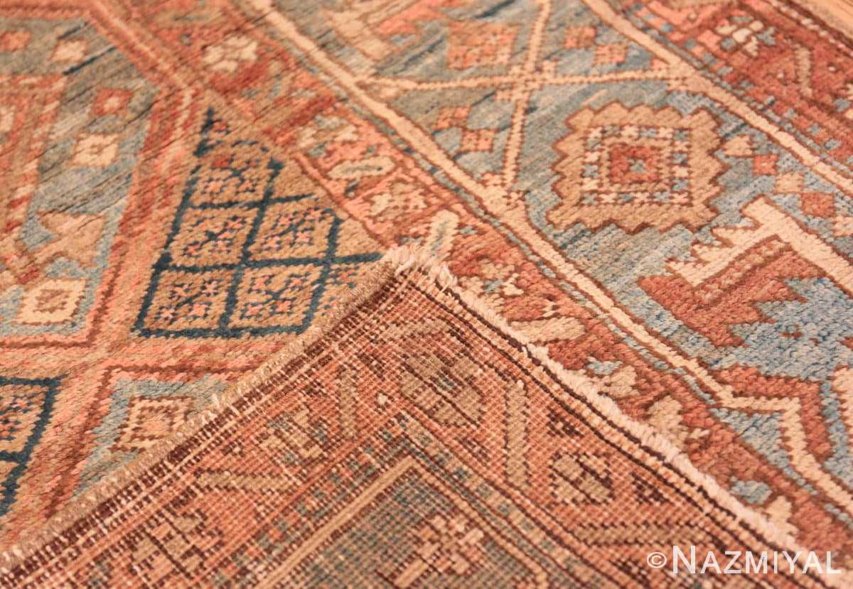 Weave Tribal Antique Persian Heriz Serapi runner rug 48994 by Nazmiyal