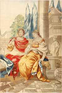 18th century french tapestry 50716 main Nazmiyal