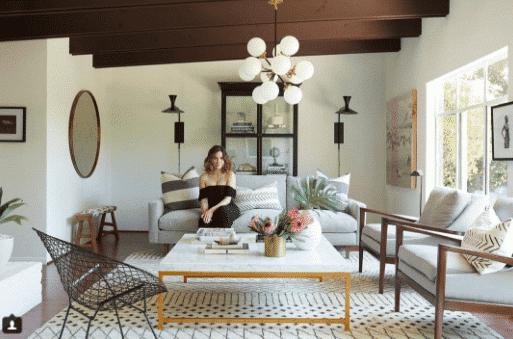 Sophia Bush Hollywood Cottage Interior Nazmiyal