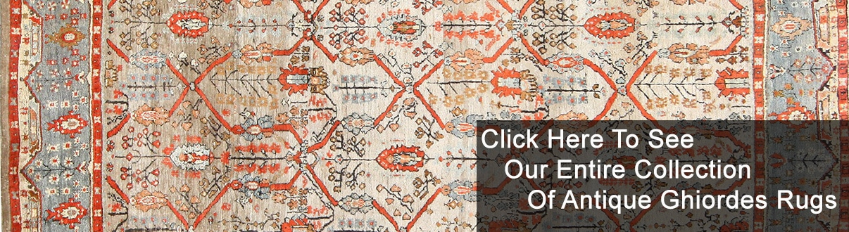 Antique Turkish Ghiordes Rugs and Oushak Carpets by Nazmiyal