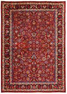 Vintage Persian Khorassan Carpet 48853