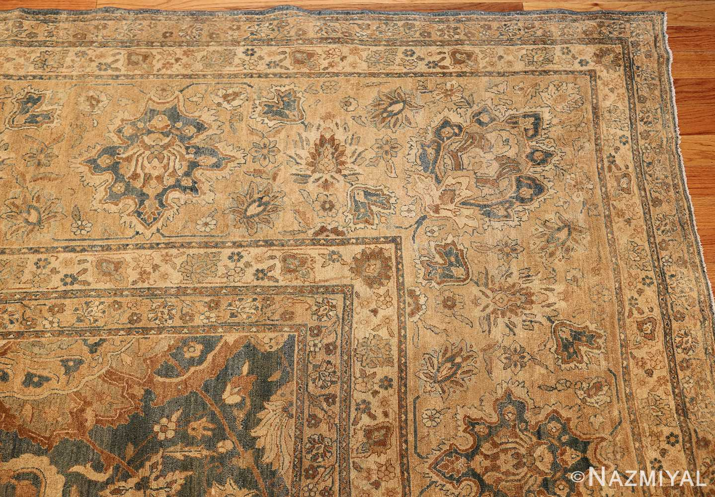 antique persian kerman rug 49030 corner Nazmiyal