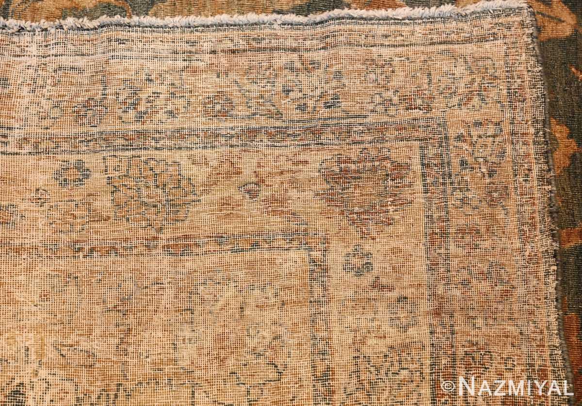 antique persian kerman rug 49030 weave Nazmiyal