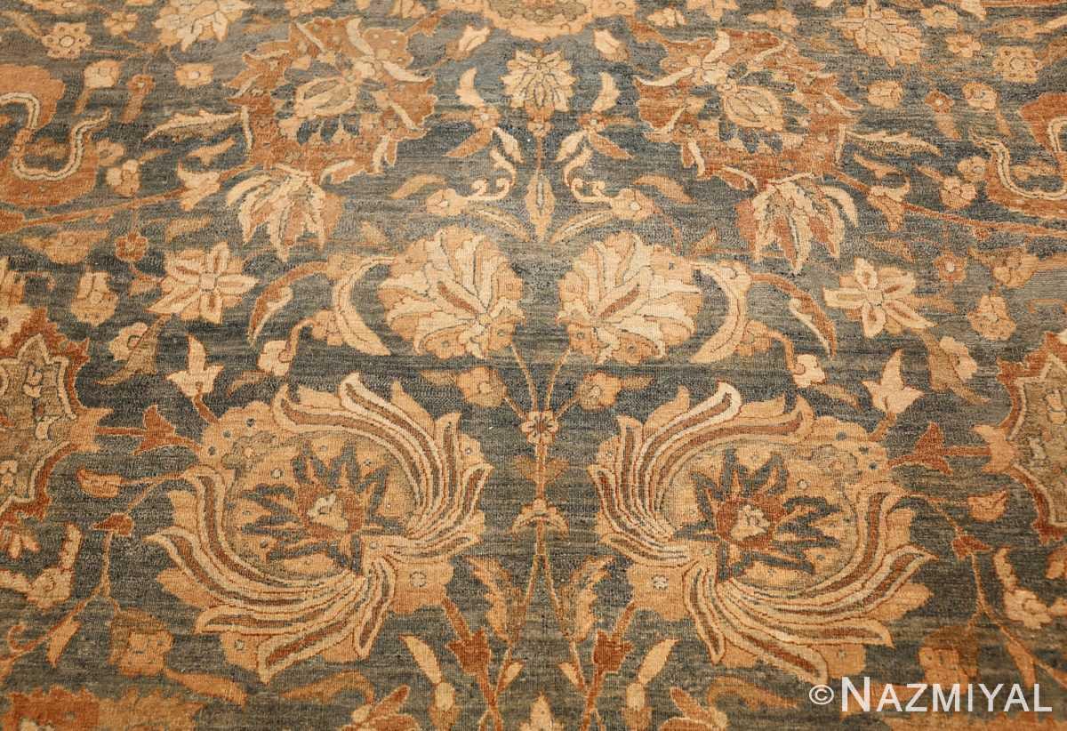antique persian kerman rug 49030 white Nazmiyal