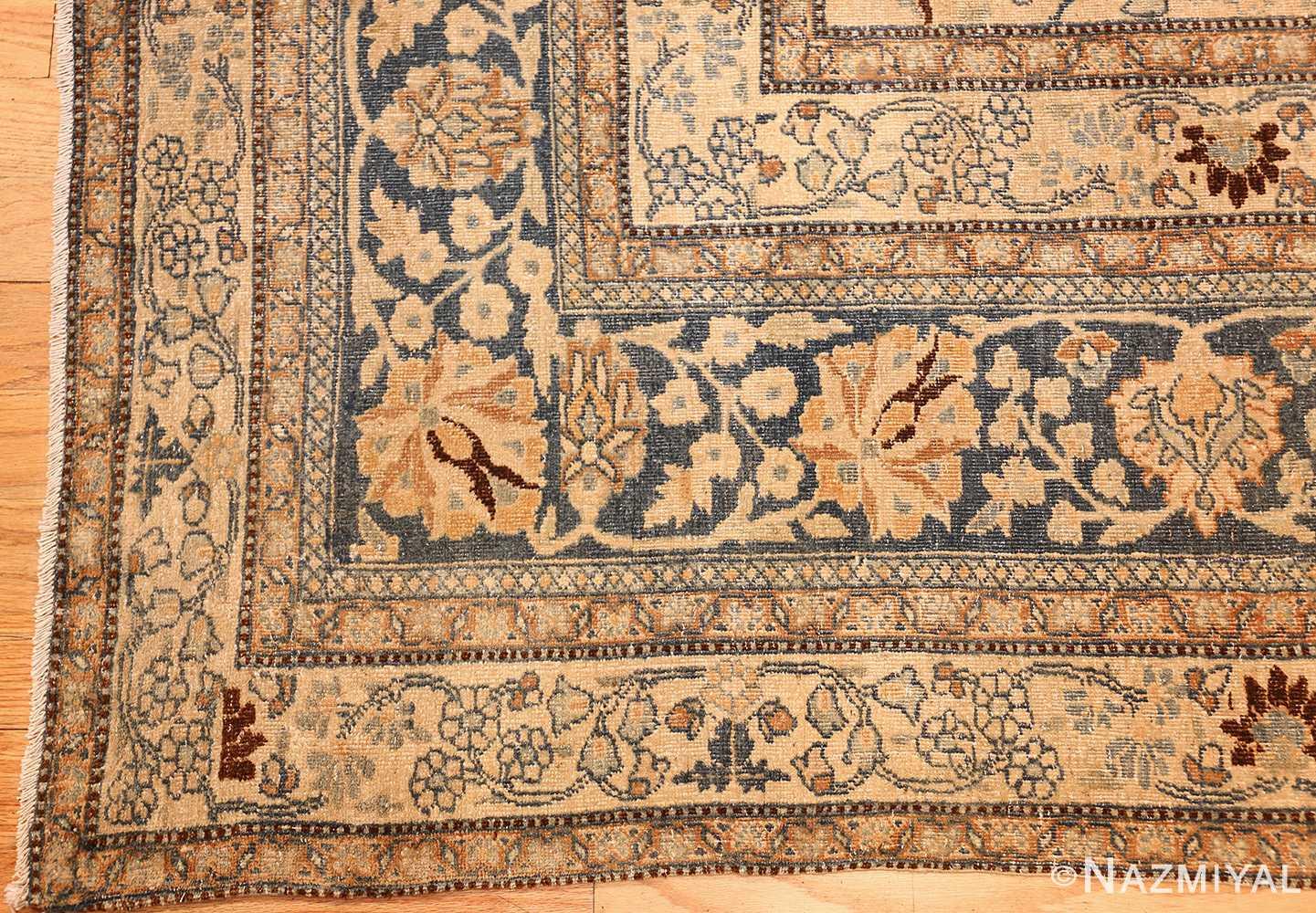 antique persian khorassan rug 48788 corner Nazmiyal