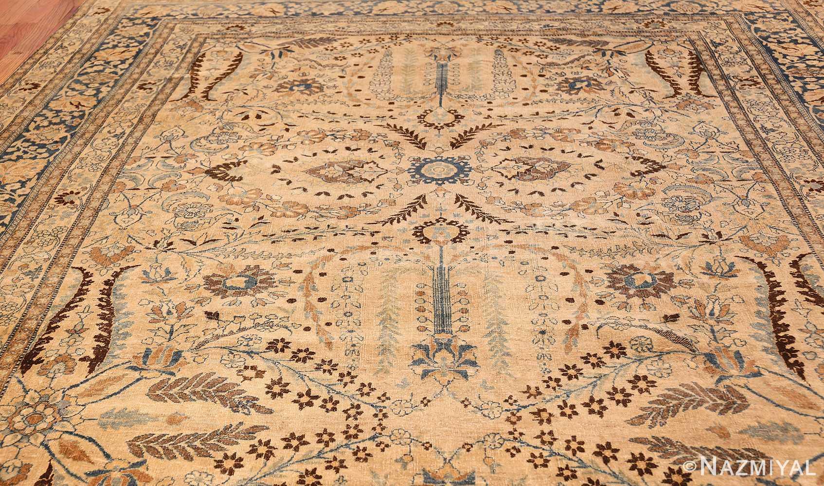 antique persian khorassan rug 48788 top Nazmiyal