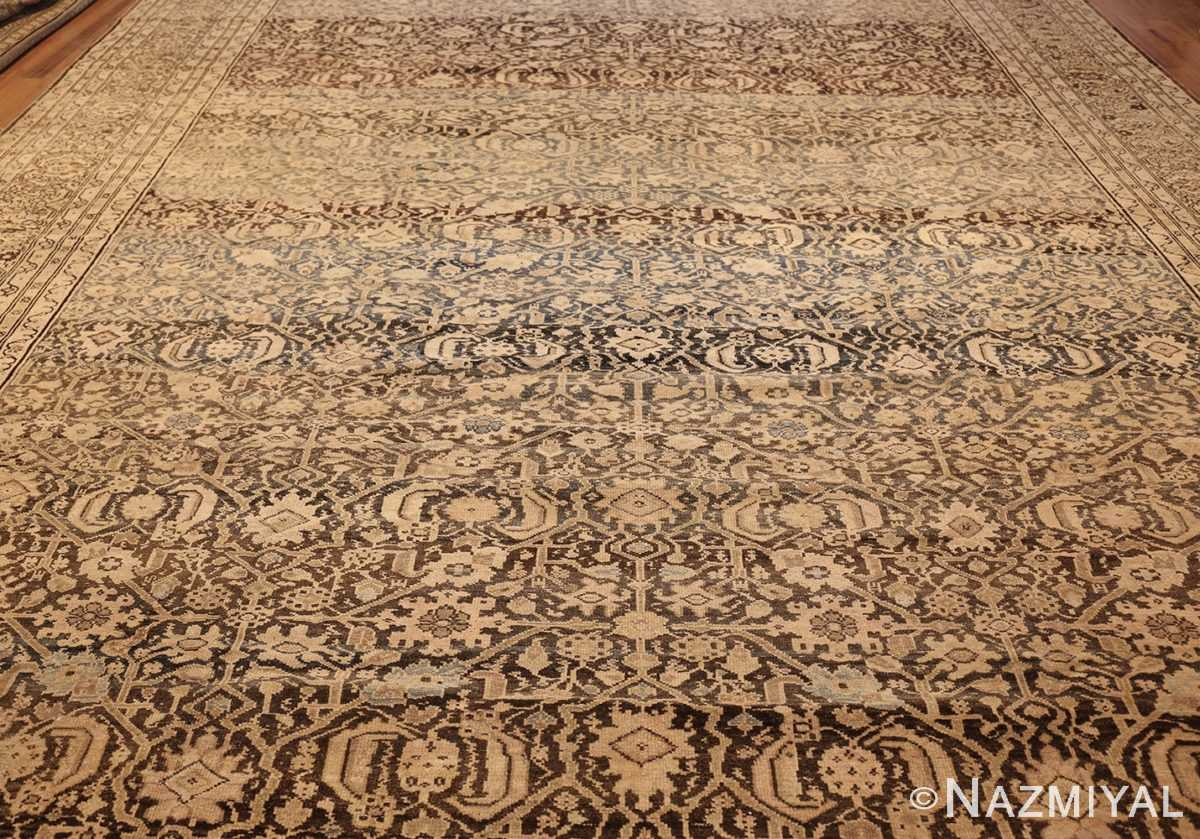 antique persian malayer rug 48889 field Nazmiyal