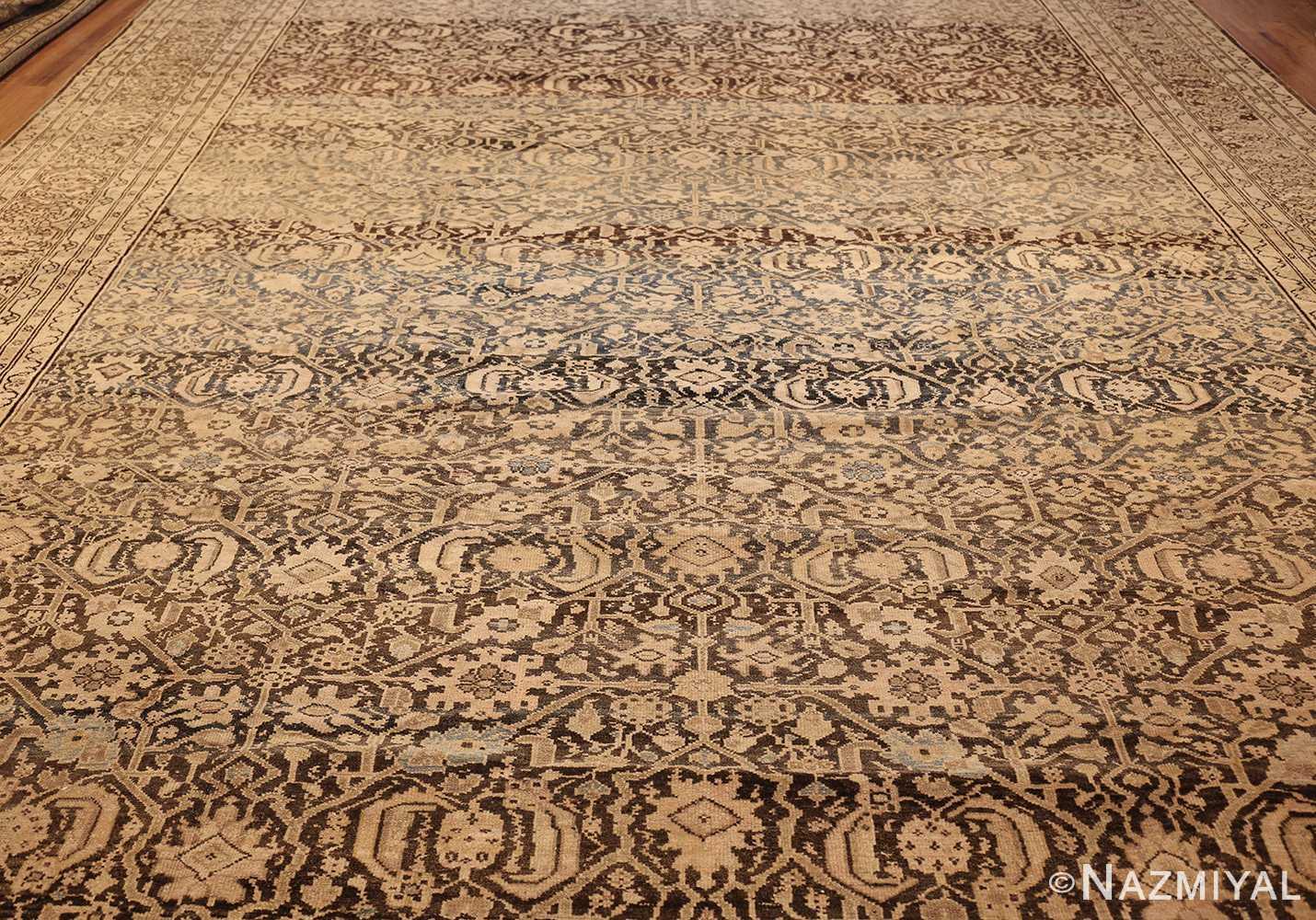 antique persian malayer rug 48889 field Nazmiyal