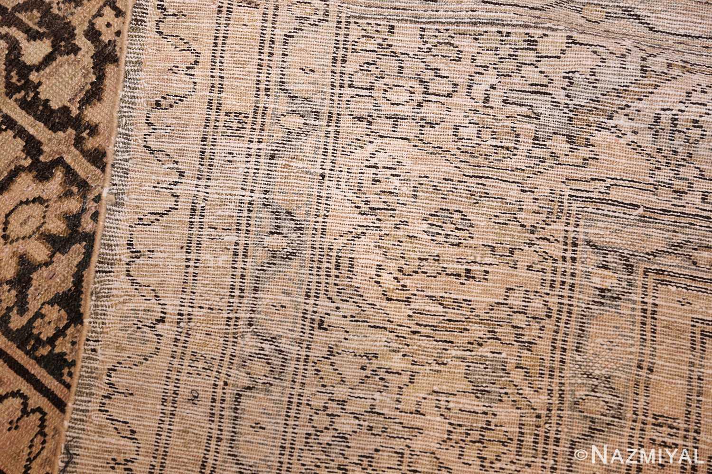 antique persian malayer rug 48889 weave Nazmiyal