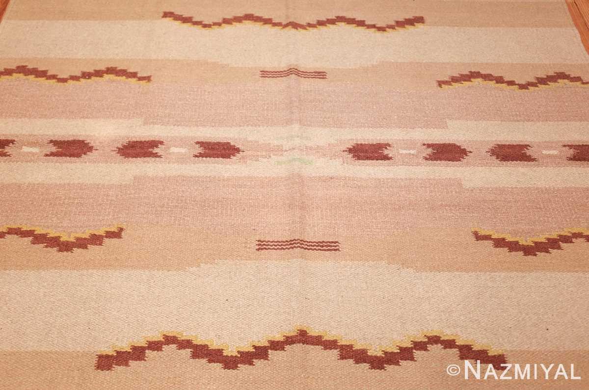 antique swedish rug 42020 field Nazmiyal