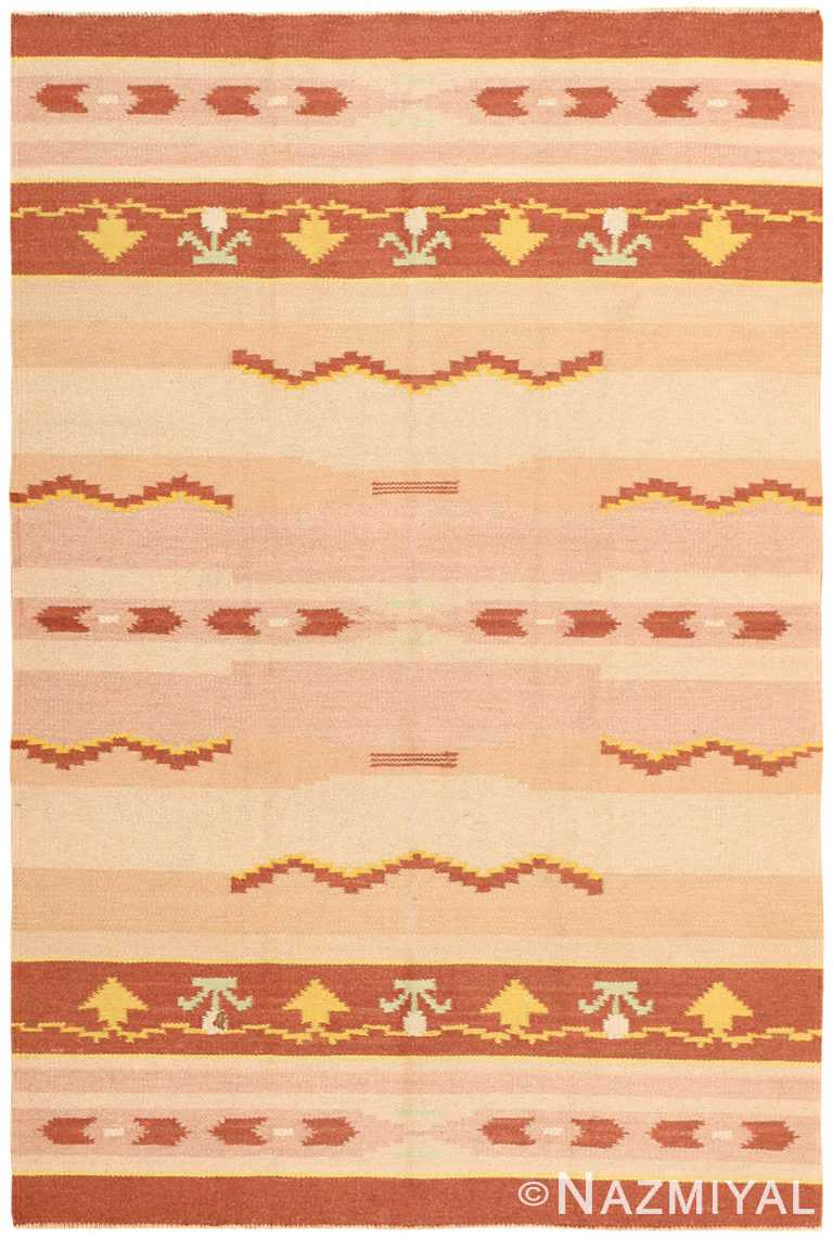 Antique Swedish Rug 42020