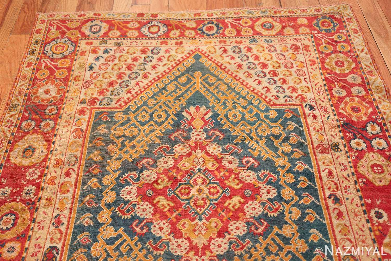 Antique Turkish Oushak Rug 50710 Top Design Nazmiyal