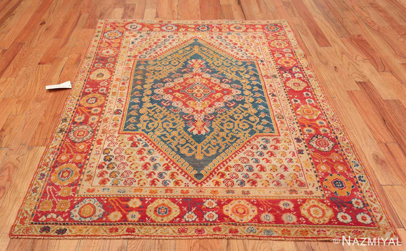 Antique Turkish Oushak Rug 50710 Whole Design Nazmiyal