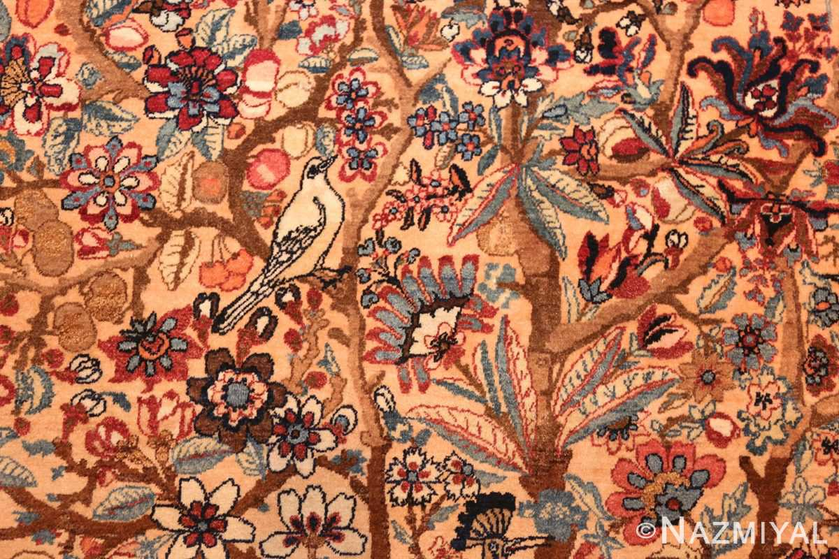 beautiful antique persian kerman rug by master aboul ghasem kermani 49006 branches Nazmiyal