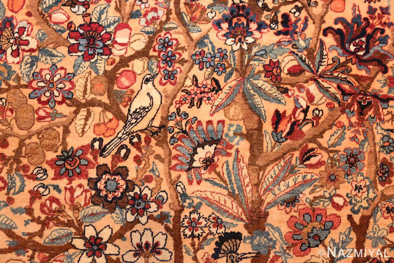 beautiful antique persian kerman rug by master aboul ghasem kermani 49006 branches Nazmiyal