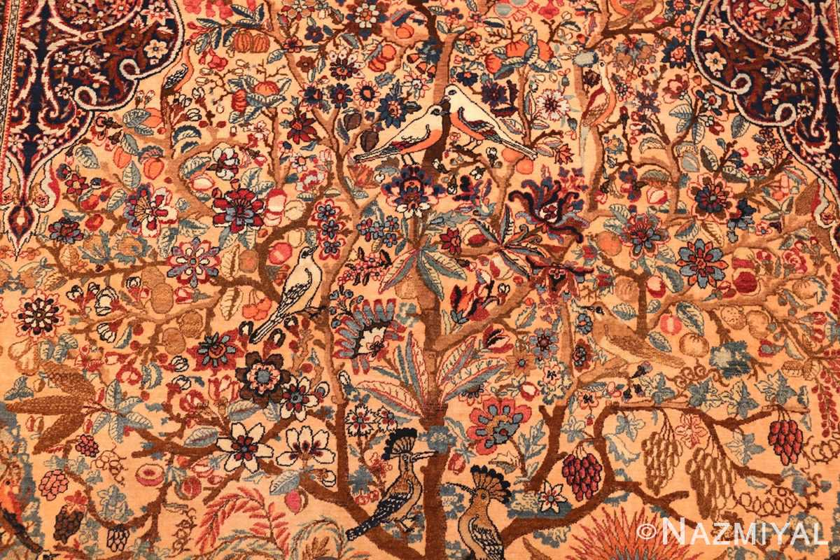 beautiful antique persian kerman rug by master aboul ghasem kermani 49006 middle Nazmiyal