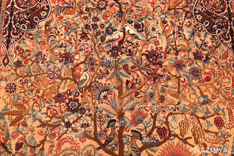 beautiful antique persian kerman rug by master aboul ghasem kermani 49006 middle Nazmiyal