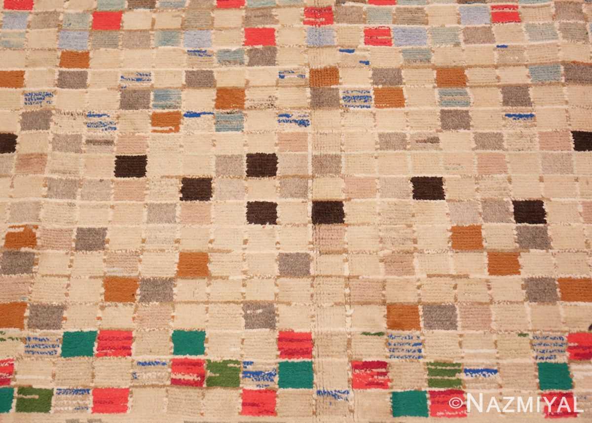 Center Whimsical Tribal Persian Gabbeh rug 48814 by Nazmiyal