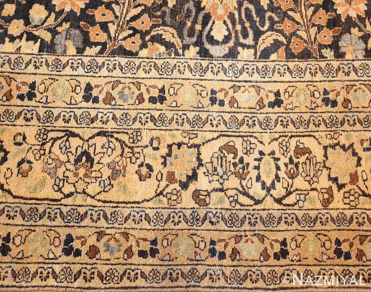 charcoal gray persian khorassan rug 48913 border Nazmiyal