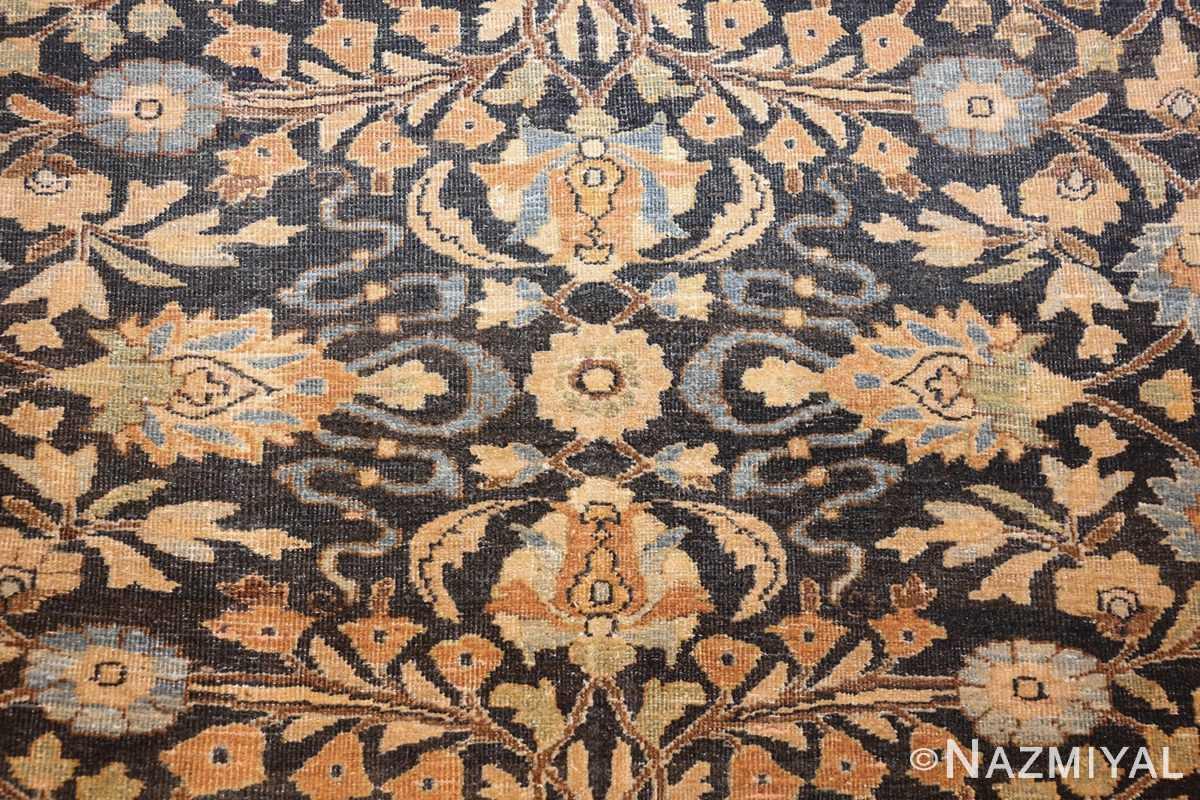 charcoal gray persian khorassan rug 48913 field Nazmiyal